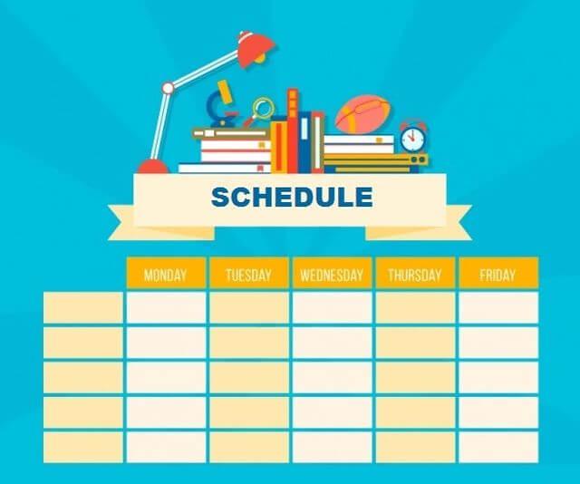 Cronograma de estudos para iniciar o aprendizado em inglês