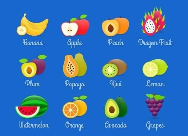 Amado Frutas em inglês: guia prático de escrita, pronúncia e atividades LV06