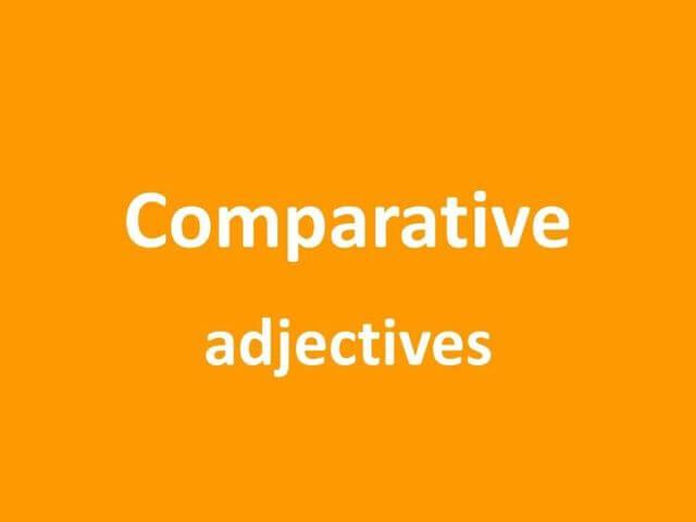 Adjetivos Comparativos em Inglês: Aprenda de um jeito fácil, simples e prático
