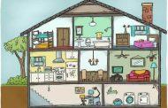 Partes da casa em inglês e vocabulário sobre residências